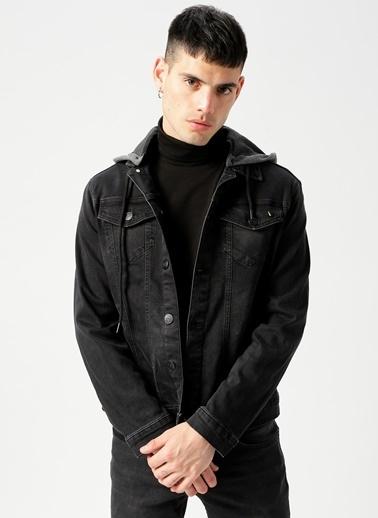 Twister Jean Ceket Siyah